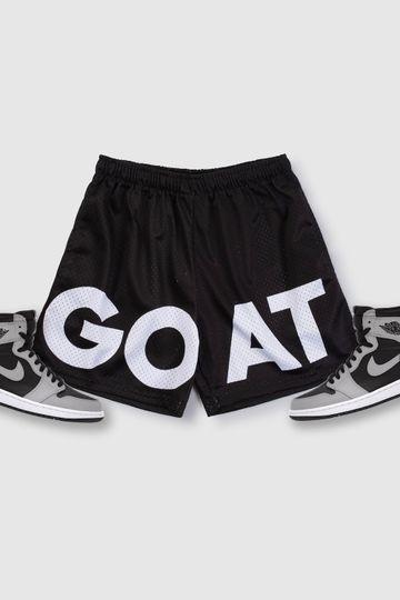GOAT Mesh Basic Shorts (Shadow Black)