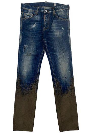 Dsquared2 Jeans - Paint  - Blue And Brown - S79LA0011