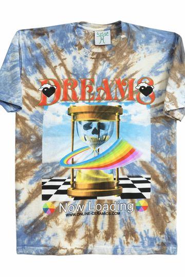 Online Ceramics Dreams Now Loading T-Shirt (Tie Dye)