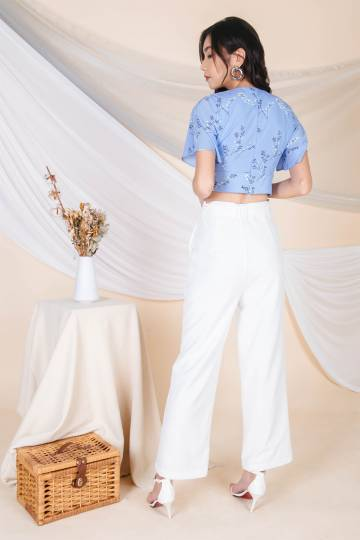 Delphine Flare Buckle Pants