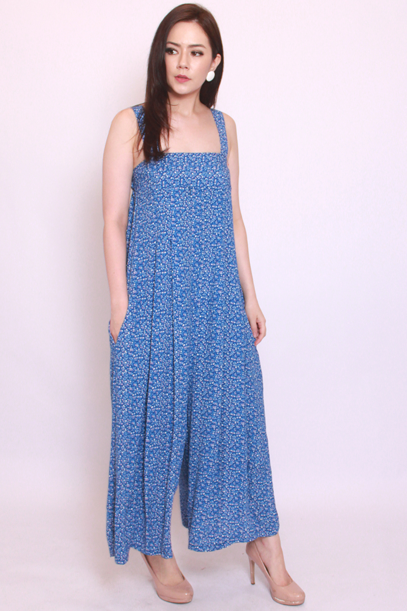 Moira Jumpsuit in Blue