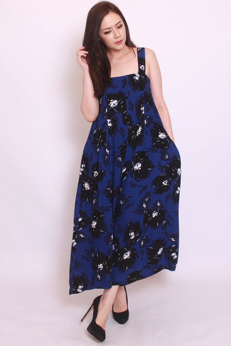 Moira Jumpsuit in Navy