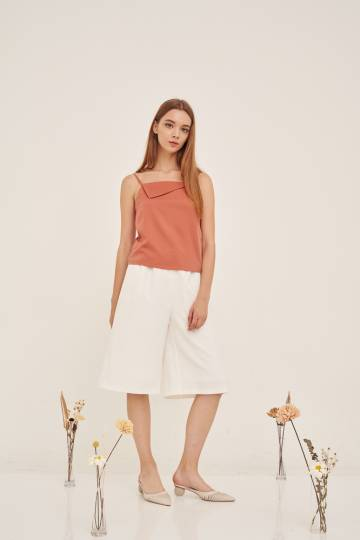 EVA Flap Camisole in Coral, By LVG