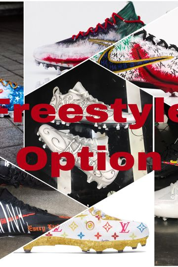 Freestyle Cleat Custom (Send in YOUR Cleats)