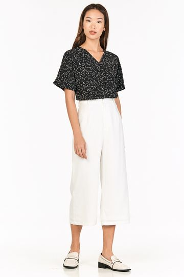 Ford Linen Culottes in White