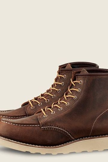 Red Wing #3428 6-Inch Classic Moc Women's Short Boot - Copper Rough & Tough Leather