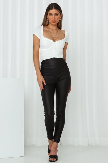 Rebel With A Cause Pants Black