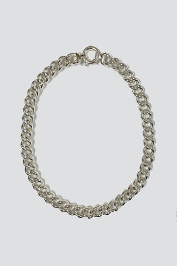 Sterling Silver Big Curb Necklace