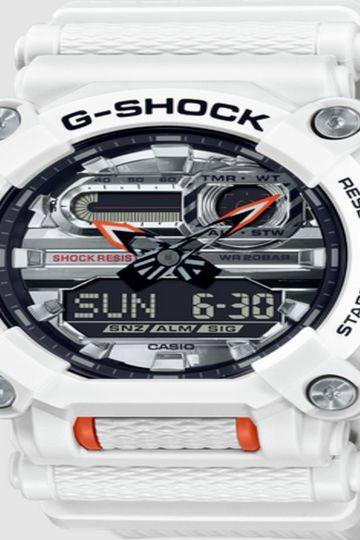 G-SHOCK Garish Color Series White Limited Edition Astro World Space Watch