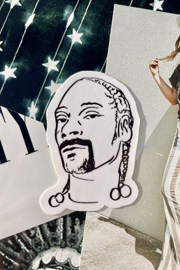 'Snoop Dog' Sticker