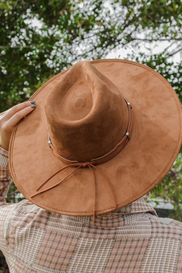 You'll Never Know Hat: Brown