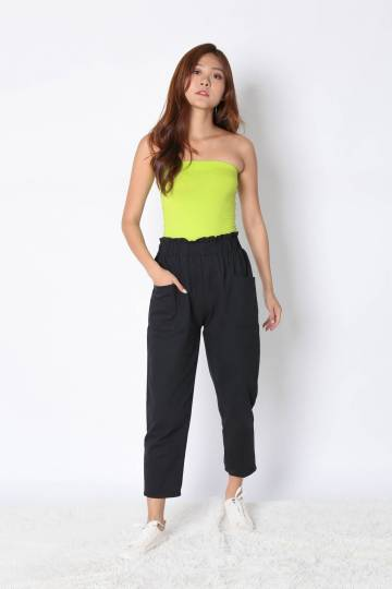 *BACKORDER* THE VERY BASIC TUBE TOP IN NEON GREEN