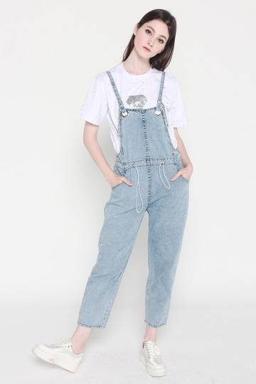 Makayla Denim Jumpsuit