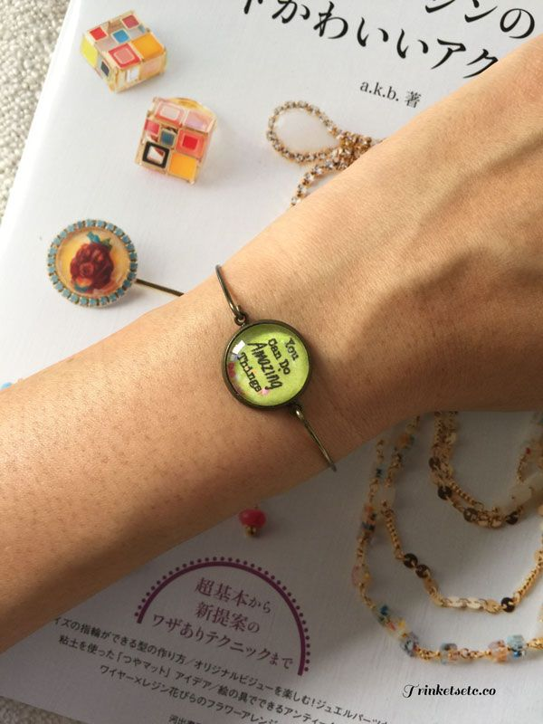 Mini Message Cuffs - You can do amazing things - ShopperBoard