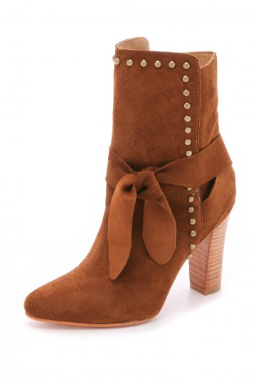 Aggie Suede Booties