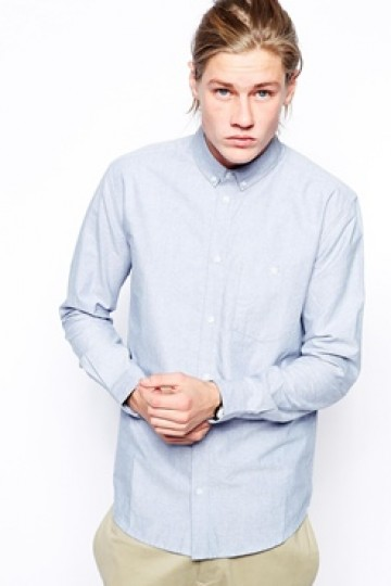 Weekday Shirt Bad Times Oxford Button Down