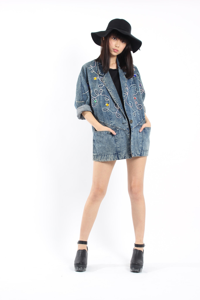 YHF VINTAGE Mama's Coat #6   Young Hungry Free