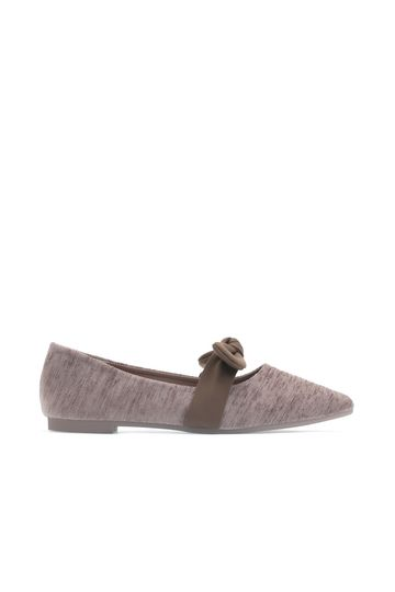 Bow Mary Jane Variegated Ballet Flats