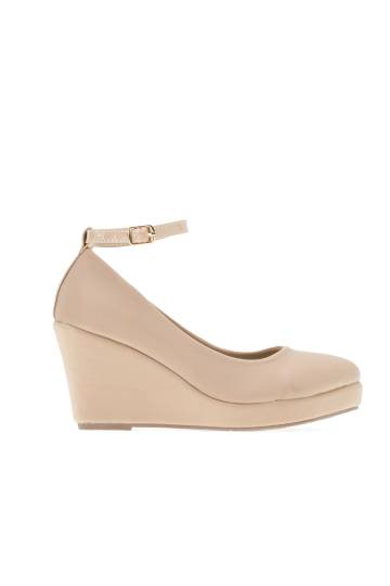 Mary Jane Ankle Strap Wedges