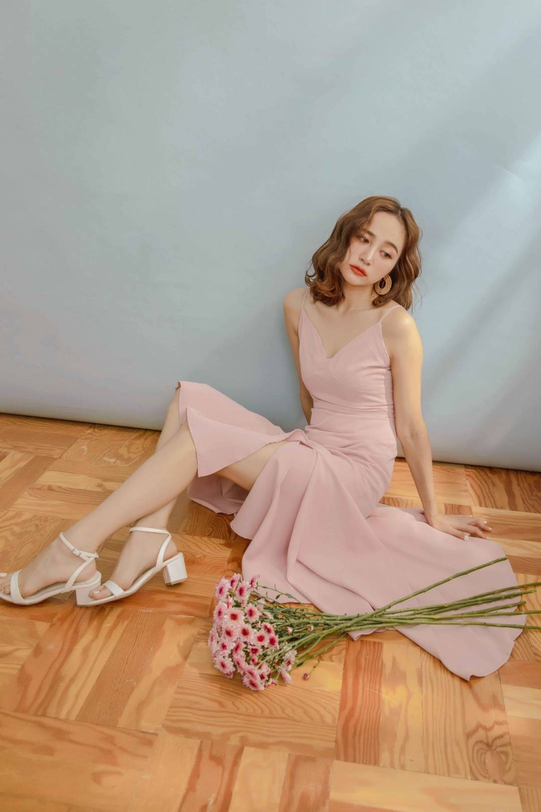 Joy Dress in Taupe