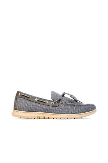 Knot Knitted Boat Shoes