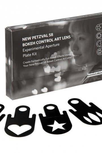 Special Aperture Plates for Petzval 58mm – 1