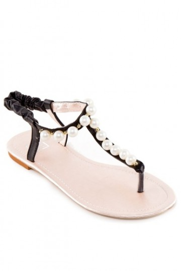 ca48c9e500e9 Buy Te Chi-Chi Flat Sandals with Pearls