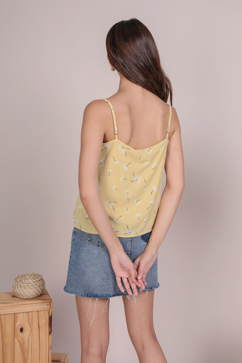 Melody Spag Top (Dandelion Yellow)