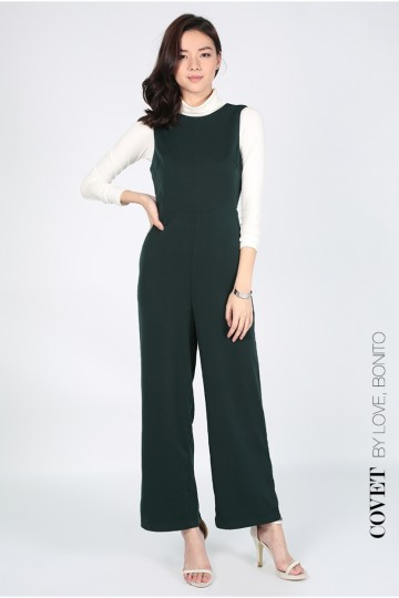 Covet Jaleesa Backless Jumpsuit