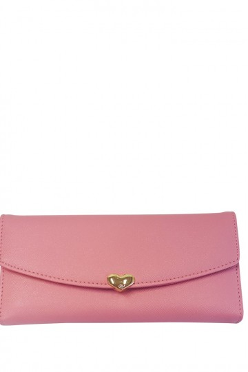 The Front Clip Top Purse - Pink