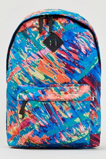 Paint Sweep Print Backpack - New In- TopMan Singapore