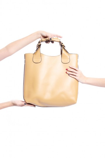 Bag It in Beige | Young Hungry Free