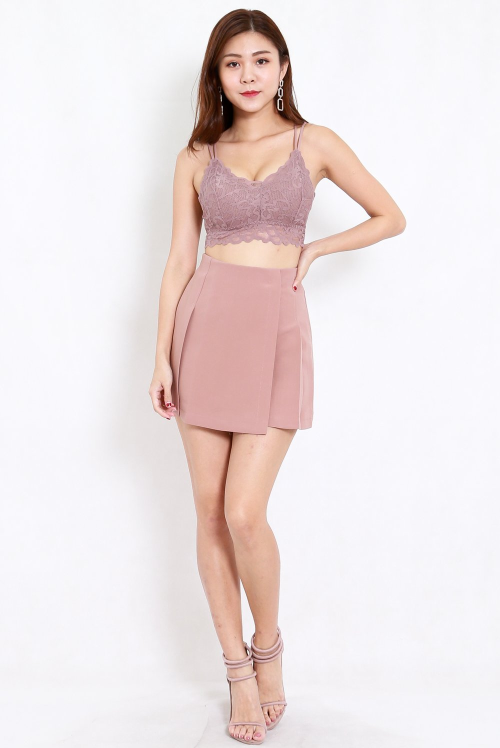 Rikka Lace Bralet (Mauve) *Push Up Effect*