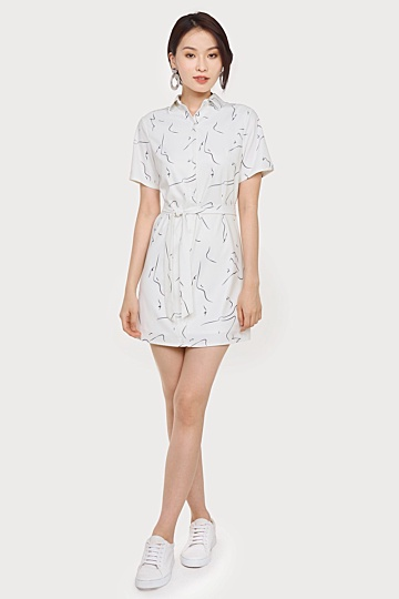 Crevice Shirt Dress