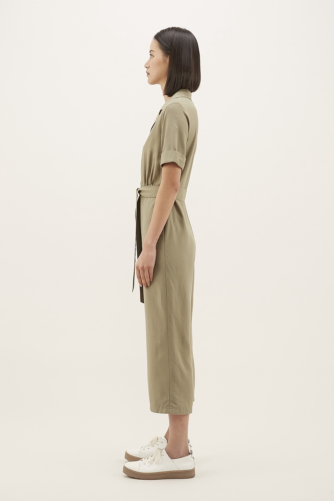 Melvina Collared Jumpsuit
