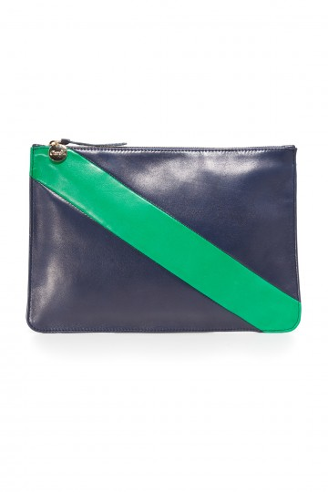 Diagonal Margot Flat Supreme Clutch