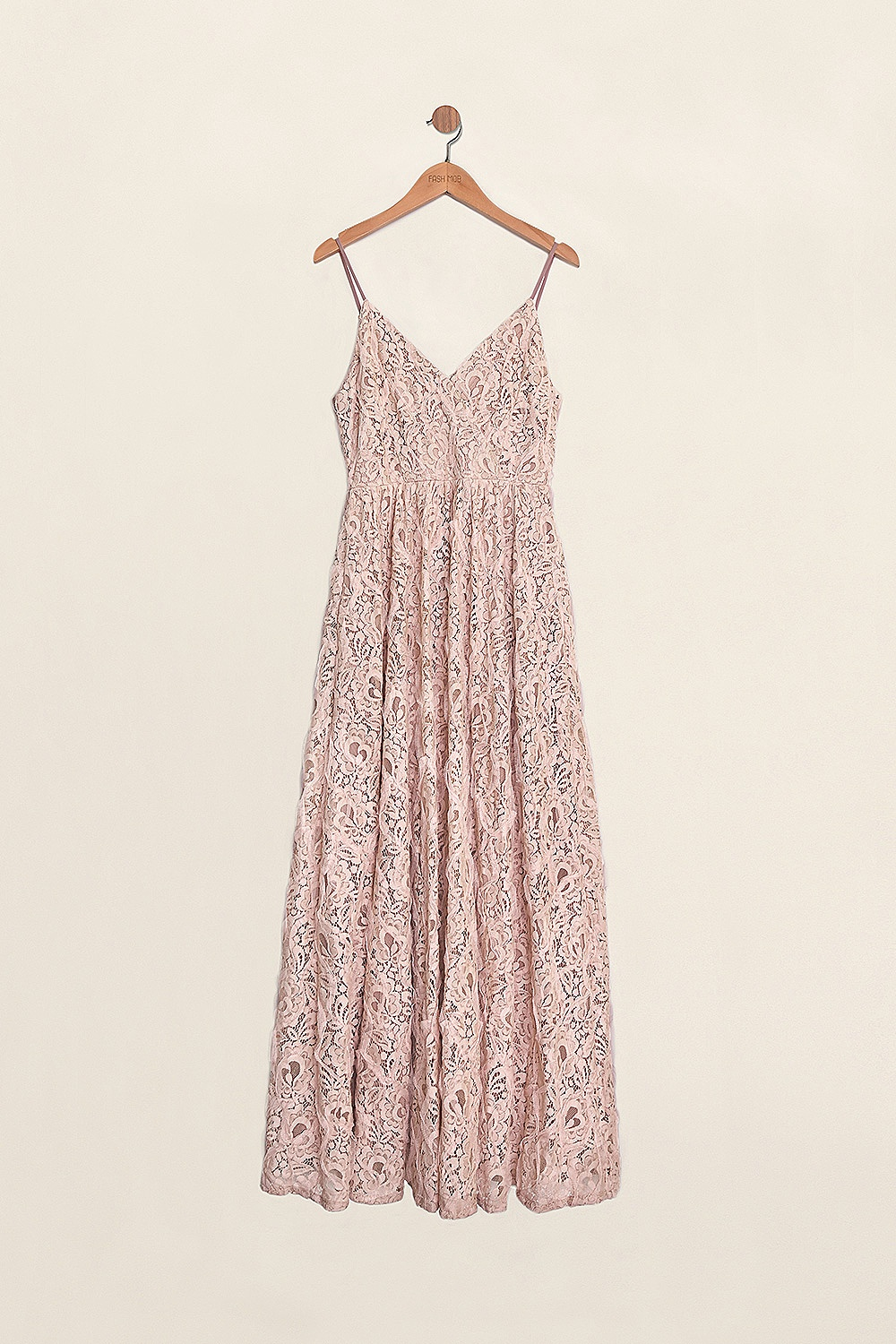 TESSA LACE MAXI IN PINK