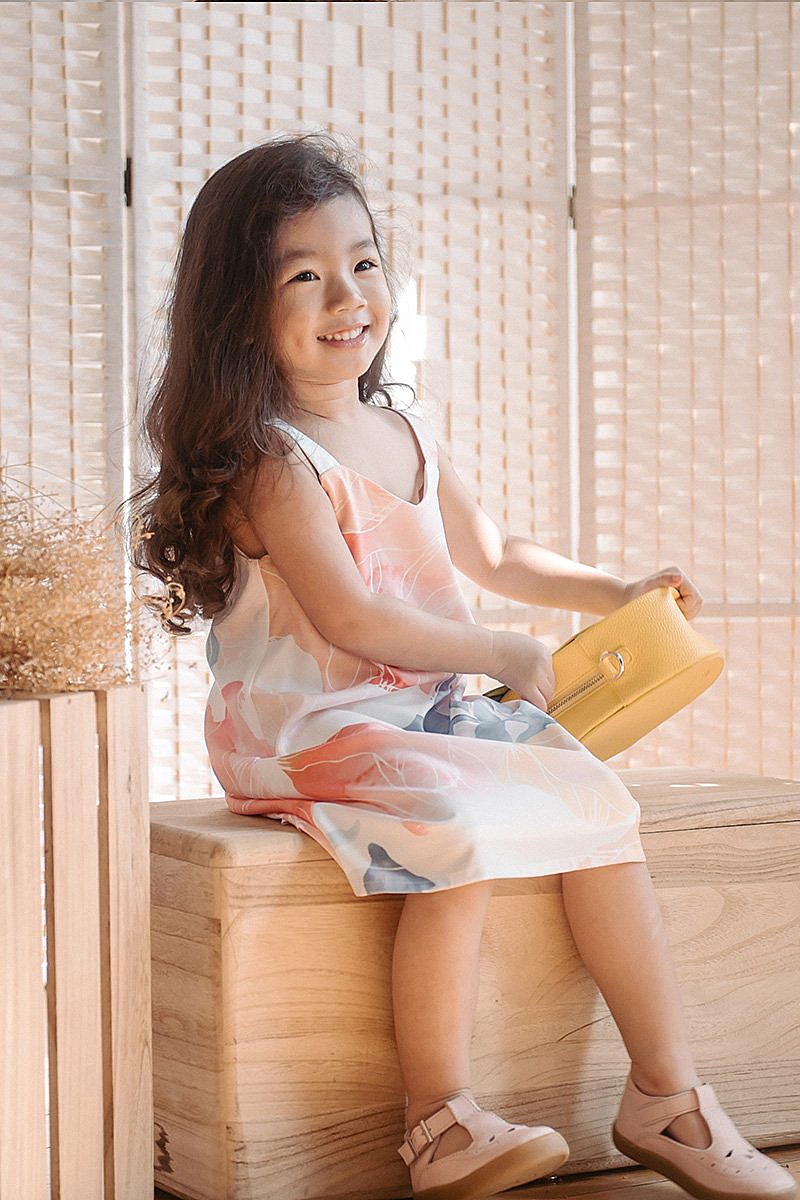 Lil Tots Swing into Spring Dress
