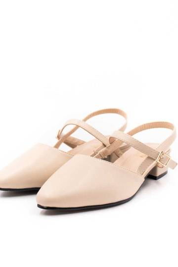 [Backorder] Camila Sandals (Light Beige)