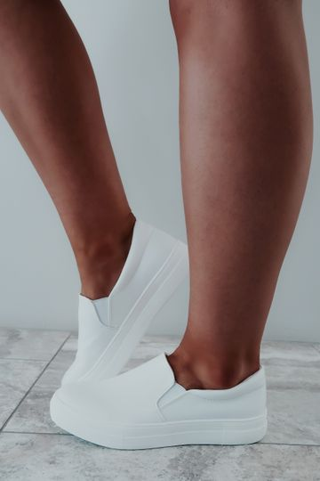 How To Live Sneakers: White