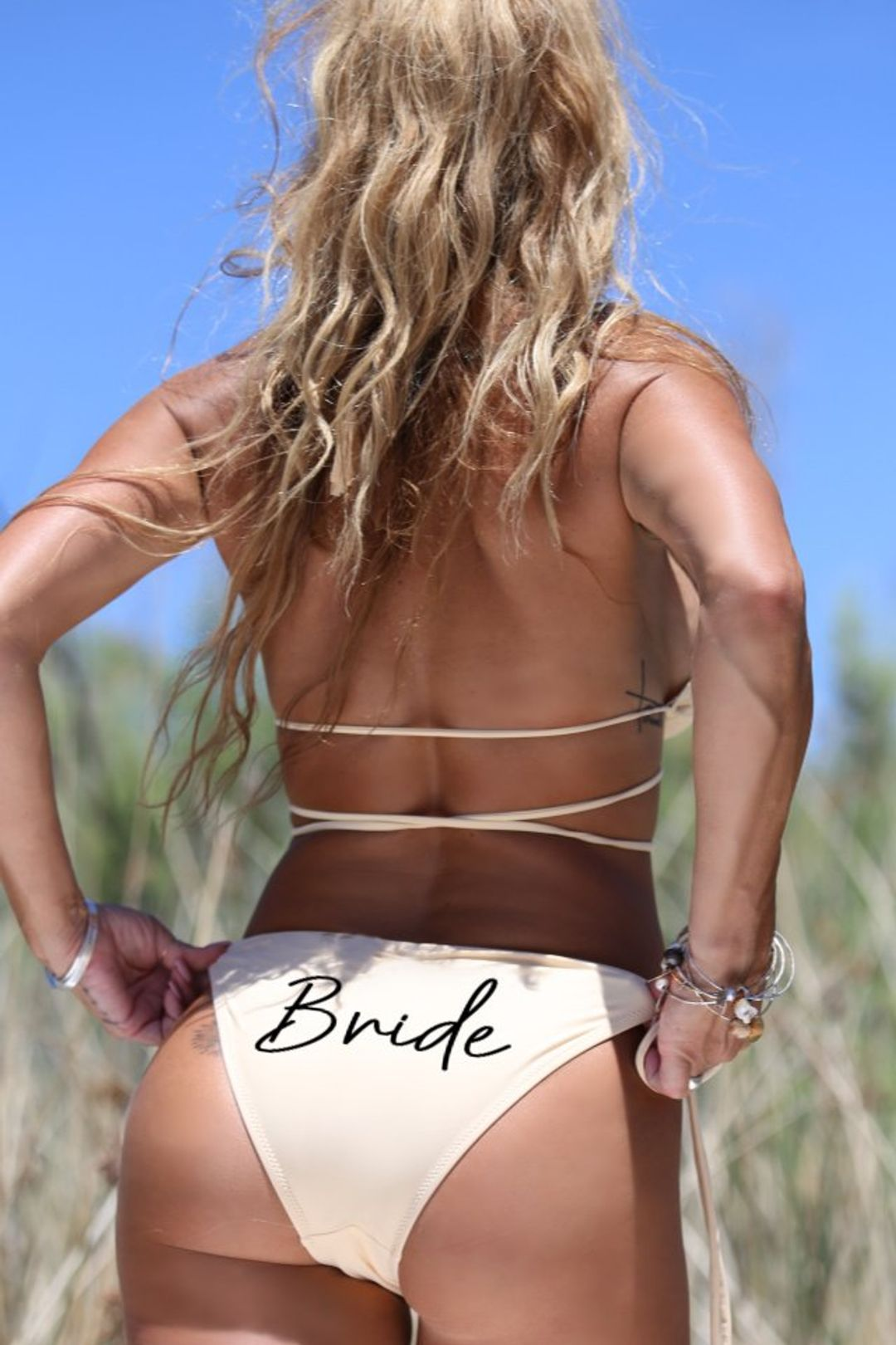 Bride Bikini Bottom - Malibu Side Tie Bottom