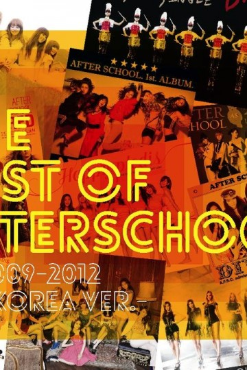 YESASIA: The Best Of After School 2009-2012 -Korea Ver.- (ALBUM+DVD)(First Press Limited Edition)(Japan Version) CD - After School, Avex Marketing - Japanese Music - Free Shipping