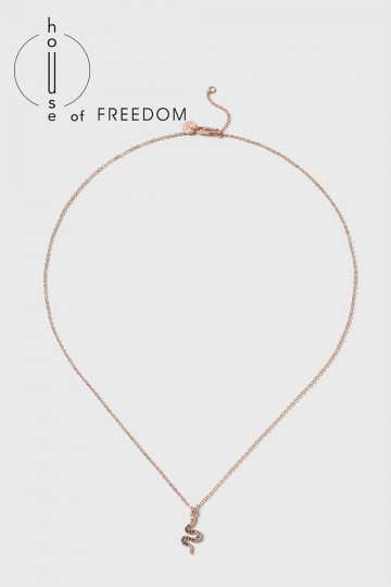 House of Freedom Snake Ditsy Necklace
