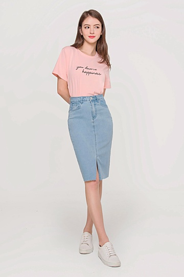 You Deserve Happiness Tee