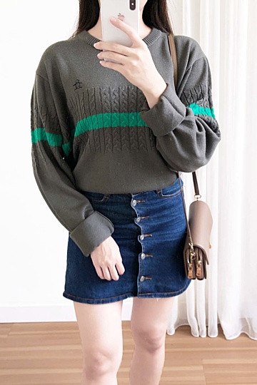 M1044 Knitted Sweater