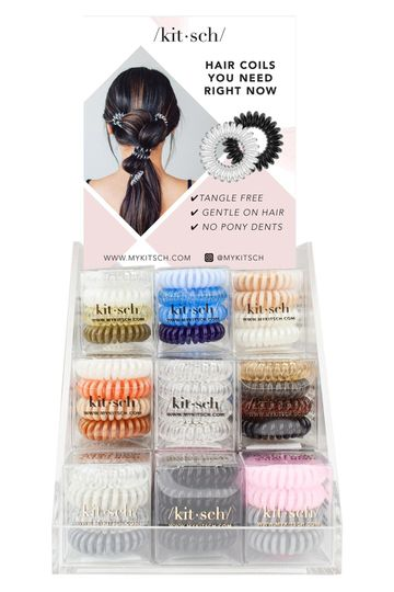 Coil Hair Tie Set