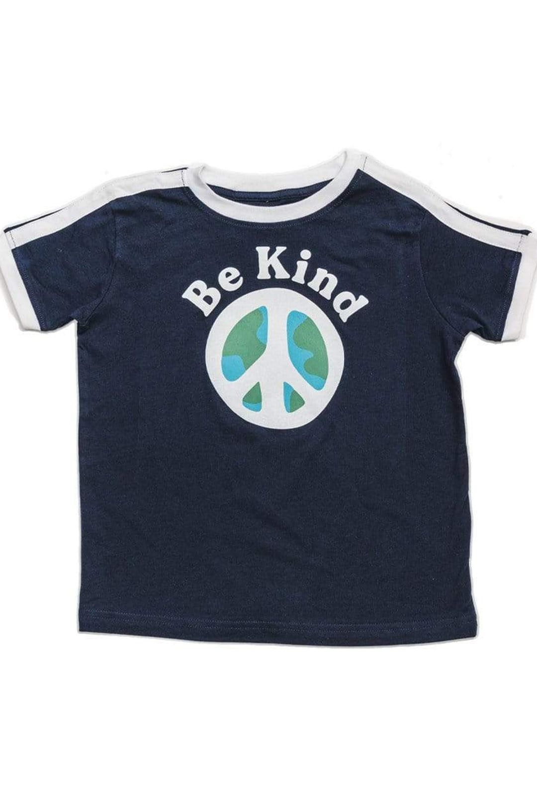 Be Kind Unisex Toddler Tee   Navy