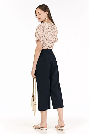 Carys Culottes in Navy