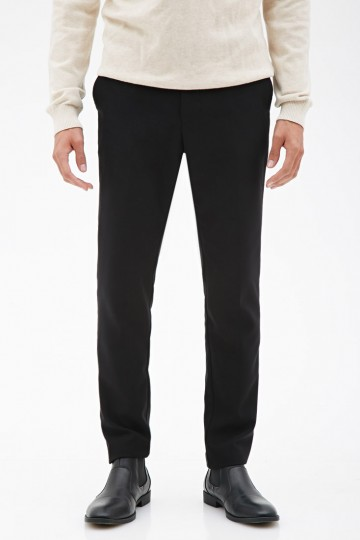 Piqué Dress Pants