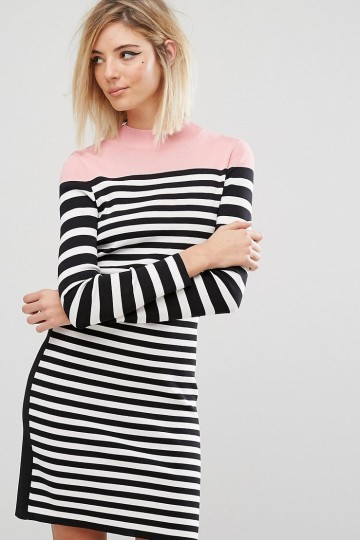 Sonia By Sonia Rykiel Stripe Knit Dress